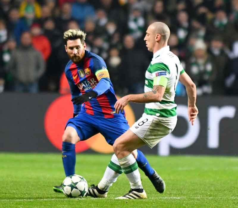 Messi mot Celtic.
