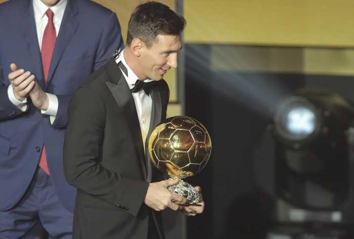 Messi og Guldball