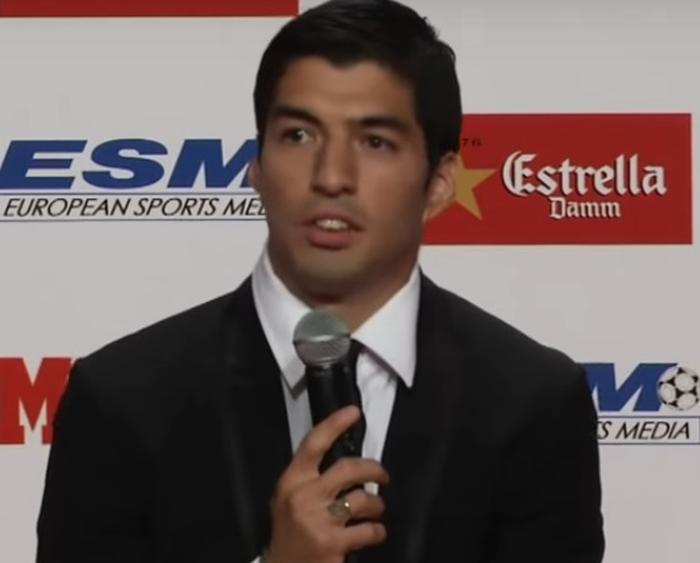 Luis Suarez konferens